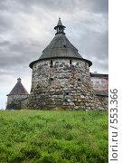 Купить «Корожная башня Соловецкого монастыря», фото № 553366, снято 12 августа 2008 г. (c) Parmenov Pavel / Фотобанк Лори
