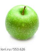 Купить «Зеленое яблоко», фото № 553626, снято 2 ноября 2008 г. (c) Виктория Кириллова / Фотобанк Лори