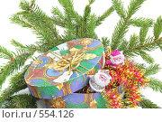 Купить «Новогодние подарки», фото № 554126, снято 10 ноября 2008 г. (c) Наталия Евмененко / Фотобанк Лори
