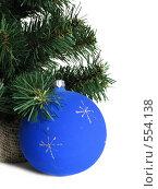 Купить «Новогодняя игрушка», фото № 554138, снято 19 октября 2007 г. (c) Наталия Евмененко / Фотобанк Лори