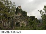 Италия, руины недалеко от Виковаро (2006 год). Стоковое фото, фотограф Иван Алферов / Фотобанк Лори
