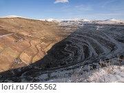 Купить «Краснокаменск. Выработанный урановый рудник Тулукуйский», фото № 556562, снято 2 ноября 2008 г. (c) Julia Nelson / Фотобанк Лори