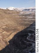 Купить «Краснокаменск. Выработанный урановый рудник Тулукуйский», фото № 556594, снято 2 ноября 2008 г. (c) Julia Nelson / Фотобанк Лори