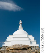 Байкал. Буддийская ступа на острове Огой. Стоковое фото, фотограф Andrey M / Фотобанк Лори