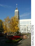 Осень в Красноярске (2008 год). Стоковое фото, фотограф Сергей Зоммер / Фотобанк Лори