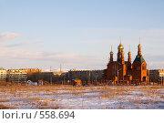 Купить «Краснокаменск. Церковь Спаса Нерукотворного», фото № 558694, снято 2 ноября 2008 г. (c) Julia Nelson / Фотобанк Лори
