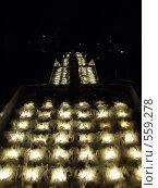 Каскадный фонтан вечером (2007 год). Стоковое фото, фотограф Иван Маршинин / Фотобанк Лори
