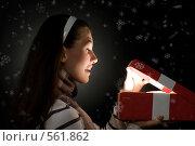 Купить «Волшебный подарок», фото № 561862, снято 29 сентября 2008 г. (c) Константин Юганов / Фотобанк Лори