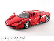 Купить «Enzo Ferrari. спортивный автомобиль. модель.», фото № 564738, снято 16 ноября 2008 г. (c) Vadim Tatarnitsev / Фотобанк Лори