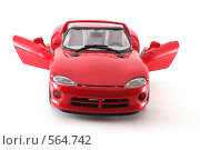 Купить «Viper RT/10. спортивный автомобиль. модель.», фото № 564742, снято 16 ноября 2008 г. (c) Vadim Tatarnitsev / Фотобанк Лори