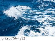 Купить «Волны на море», фото № 564882, снято 17 июня 2019 г. (c) ElenArt / Фотобанк Лори