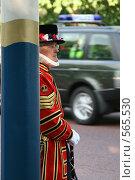 Купить «Лондонские стражи», фото № 565530, снято 12 июня 2007 г. (c) Маргарита Герм / Фотобанк Лори