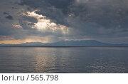 Кунашир. Вид на Хоккайдо. (2007 год). Редакционное фото, фотограф Иван Алферов / Фотобанк Лори