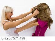 Купить «Две блондинки», фото № 571498, снято 21 октября 2008 г. (c) Михаил Мандрыгин / Фотобанк Лори