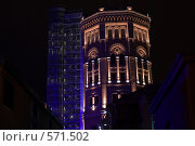Купить «Водонапорная башня», фото № 571502, снято 19 ноября 2008 г. (c) Олег Трушечкин / Фотобанк Лори