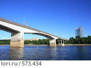 Купить «Река Кама. Пермь. Автомобильный мост», эксклюзивное фото № 573434, снято 4 июля 2008 г. (c) Juliya Shumskaya / Blue Bear Studio / Фотобанк Лори