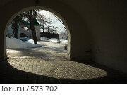 Вход в Свято-Троицкий Антониево-Сийский мужской монастырь (2007 год). Стоковое фото, фотограф Иван Алферов / Фотобанк Лори