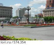 Площадь Ленина в Хабаровске. Редакционное фото, фотограф Андрей Гринько / Фотобанк Лори