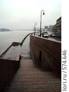 Купить «Набережная Робеспьера», фото № 574646, снято 9 марта 2007 г. (c) Омельян Светлана / Фотобанк Лори