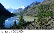Купить «Алтай. Озеро Маашей», фото № 575654, снято 28 мая 2020 г. (c) Игорь Потапов / Фотобанк Лори