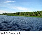 Купить «Озеро нахимовское», фото № 575674, снято 11 июля 2008 г. (c) Алексей Алексеев / Фотобанк Лори