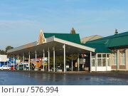 Купить «Заводоуковск. Автовокзал», фото № 576994, снято 15 ноября 2008 г. (c) Александр Тараканов / Фотобанк Лори