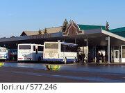 Купить «Заводоуковск. Автовокзал», фото № 577246, снято 15 ноября 2008 г. (c) Александр Тараканов / Фотобанк Лори