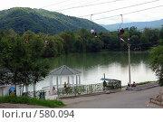 Купить «Нальчик. Полет над искусственным озером.», фото № 580094, снято 22 июня 2008 г. (c) Александр Тараканов / Фотобанк Лори