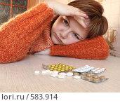 Купить «Головная боль», фото № 583914, снято 12 ноября 2008 г. (c) Ирина Золина / Фотобанк Лори