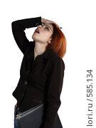 Купить «Кризис. Крах. Озабоченность», фото № 585134, снято 12 апреля 2007 г. (c) Марианна Меликсетян / Фотобанк Лори
