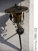 Старый уличный фонарь. Стоковое фото, фотограф Юлия Медведева / Фотобанк Лори