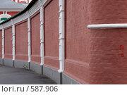 Купить «Монастырская стена», фото № 587906, снято 11 октября 2008 г. (c) Юрий Синицын / Фотобанк Лори