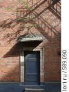 Купить «Секретная дверь», фото № 589090, снято 30 мая 2008 г. (c) Юрий Синицын / Фотобанк Лори