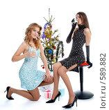 Купить «Новый Год», фото № 589882, снято 10 октября 2008 г. (c) Serg Zastavkin / Фотобанк Лори