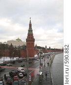 Фото Кремля. Москва. Зима (2008 год). Стоковое фото, фотограф Николаенкова Светлана / Фотобанк Лори