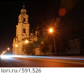 Купить «Ночной кремль Астрахани», фото № 591526, снято 9 ноября 2008 г. (c) Кирилл Федорин / Фотобанк Лори