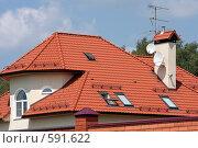 Купить «Современный коттедж», фото № 591622, снято 13 июля 2008 г. (c) Юрий Синицын / Фотобанк Лори