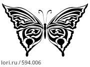 Купить «Бабочка», иллюстрация № 594006 (c) Сергей Лаврентьев / Фотобанк Лори
