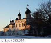 Купить «Здание в кремле, Астрахань», фото № 595314, снято 11 января 2008 г. (c) Кирилл Федорин / Фотобанк Лори
