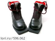 Купить «Ботинки для беговых лыж», фото № 596062, снято 2 декабря 2008 г. (c) RedTC / Фотобанк Лори