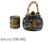 Купить «Чайная церемония», фото № 596842, снято 30 ноября 2008 г. (c) Игорь Качан / Фотобанк Лори