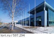 Ледовый дворец в городе Кондопога, Карелия (2008 год). Стоковое фото, фотограф Владимир Горев / Фотобанк Лори