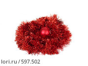 Купить «Елочные украшения», фото № 597502, снято 2 декабря 2008 г. (c) Дианова Елена / Фотобанк Лори