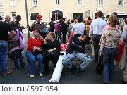 После демонстрации (2006 год). Редакционное фото, фотограф Петр Бюнау / Фотобанк Лори