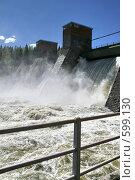 Купить «Лесогорская ГЭС (Ленинградская область)», фото № 599130, снято 17 мая 2007 г. (c) Александр Секретарев / Фотобанк Лори
