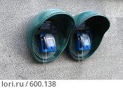 Купить «Городские телефоны-автоматы», фото № 600138, снято 21 ноября 2008 г. (c) Юлия Подгорная / Фотобанк Лори