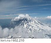 Купить «Камчатка, вулкан Карякский», фото № 602210, снято 14 июля 2007 г. (c) Легкобыт Николай / Фотобанк Лори