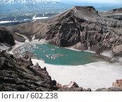 Купить «Камчатка, вулкан Горелый», фото № 602238, снято 20 июля 2007 г. (c) Легкобыт Николай / Фотобанк Лори