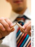 Купить «Курение не модно!», фото № 604298, снято 3 декабря 2008 г. (c) Ольга Обрывалина / Фотобанк Лори