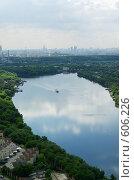 Купить «Москва с высоты», фото № 606226, снято 20 июня 2008 г. (c) Дмитрий Тарасов / Фотобанк Лори